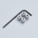 1911 Single Stack Hex Screw and Bushing Kit  - 1911HEX-NOMAG-STD
