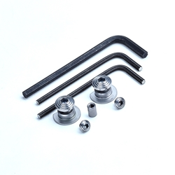 Bullseye Hi-Cap Grip Screw Kit