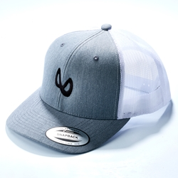 Team Infinity Mobius Snapback Hat - Heather Gray
